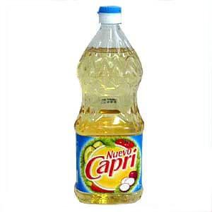 Aceite Delivery | Aceite Capri | Nuevo Capri de 1lt. - Cod:ABA02