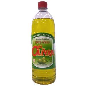 Aceite Delivery | Aceite El Olivar | Aceite de Oliva el Olivar 1 Lt - Cod:ABA12