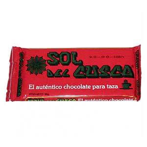 Chocolate de Taza Sol del Cuzco 90 gr. - Cod:ABD01