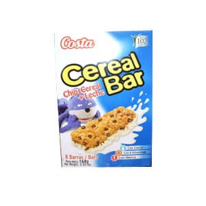 Delivery de Cereal | Cereal Bar Costa Chips Cereal+Leche x 168grs **Kellogs** - Cod:ABF05