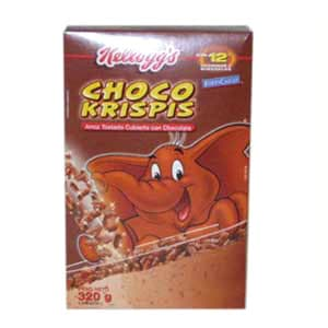 Choco Krispies Kellog´s 320grs. - Cod:ABF22