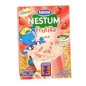 Nestum Previo Sabor a : Plátano, Frutilla ó Vainilla x 250grs - Cod:ABF27