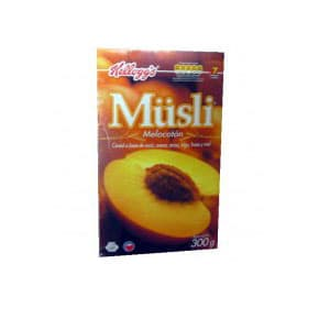 Cereal Musli Sabor a durazno x 300grs **Kellogs** | Cereal - Cod:ABF33