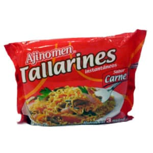 Tallarines Ajinoamen | Sopa de Carne Instantanea - Cod:ABG03