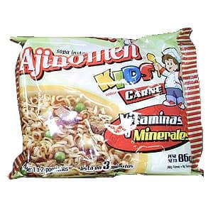 Sopa Ajinomen Instantanea Kids **Sabor a Carne 86grs - Cod:ABG09