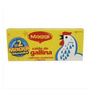 Cubito de Caldo de Gallina Maggi | Cubitos Maggi - Cod:ABG11