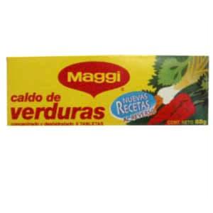 Cubito Caldo de Verduras Maggi | Cubito Caldo de Verduras - Cod:ABG14
