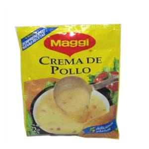 Crema de pollo Maggi 72grs. | Crema de Pollo - Cod:ABG15
