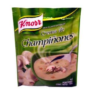 Crema de Champiñones Knorr 70 g | Crema de Champiñones - Cod:ABG16