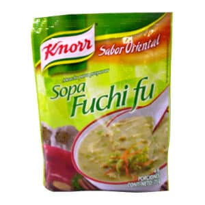 Sopa Fuchi Fu Knorr de 75grs g - Cod:ABG17
