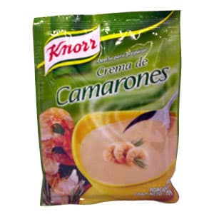 Crema de Camarones Knorr 70g - Cod:ABG19
