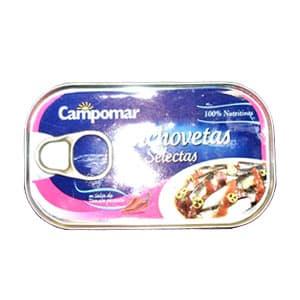 i-quiero.com - Anchovetas Selectas Campomar**Campomar** - Codigo:ABI01 - Detalles: Anchovetas Selectas Campomar  - - Para mayores informes llamenos al Telf: 225-5120 o 476-0753.
