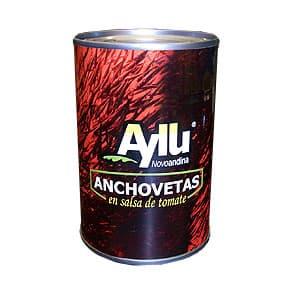 Anchovetas Ayllu en Salsa de Tomate*Aillu* - Cod:ABI02