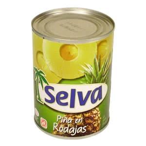 Selva Piña en Rodajas 580grs - Cod:ABI13