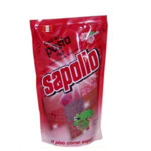 Cera en pasta roja Sapolio x 330ml | Cera en Pasta - Cod:ABK14