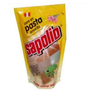 Cera en pasta Amarilla Sapolio x 330 ml. | Cera en Pasta - Cod:ABK16