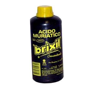 Acido Muriático Brixil de 1Litro | Acido Muriatico - Cod:ABK24