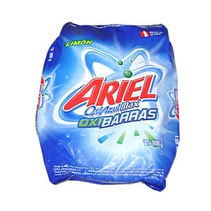 Detergente Ariel Oxi Barras x 900 grs - Codigo:ABK35 - Detalles: Detergente Ariel Oxi Barras x 900 grs  - - Para mayores informes llamenos al Telf: 225-5120 o 980-660044.