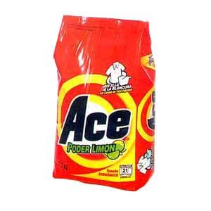 Detergente Ace x 2.6kg - Codigo:ABK46 - Detalles: Detergente Ace x 2.6kg  - - Para mayores informes llamenos al Telf: 225-5120 o 980-660044.