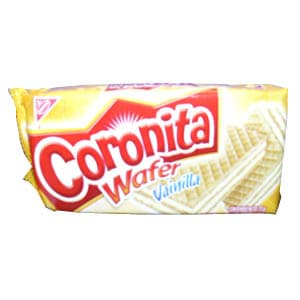 Coronita waffer de vainilla x 72 gr **Lacta** - Cod:ABM05
