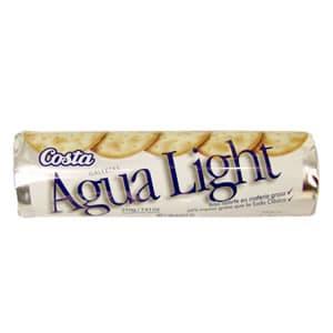 Costa Galletas Agua Ligth x 210grs - Cod:ABM10
