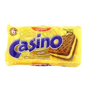 Victoria Galletas Casino Pack x 6 Unid. Sabor a: Vainilla - Cod:ABM14