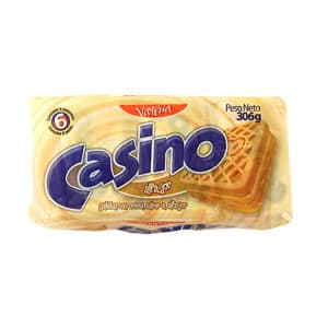Victoria Galletas Casino Pack x 6 Unid. Sabor a: Alfajor | Galletas - Cod:ABM15