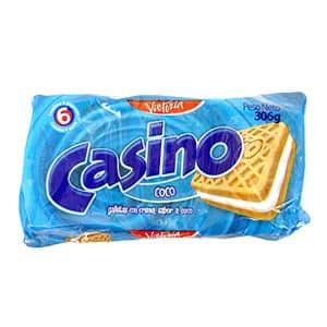 Victoria Galletas Casino Pack x 6 Unid. Sabor a: Coco - Cod:ABM17