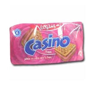 Victoria Galletas Casino Pack x 6 Unid. Sabor a: Fresa | Galletas Casino - Cod:ABM18