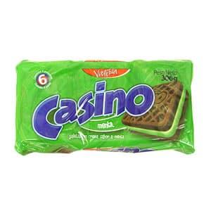 Victoria Galletas Casino Pack x 6 Unid. Sabor a: Menta - Cod:ABM19