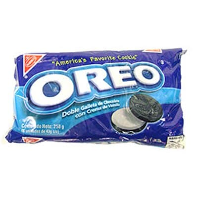 Nabisco Galletas Oreo Cl�sica Pack x 6 unid - Cod:ABM26