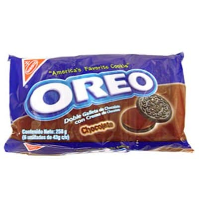 Nabisco Galletas Oreo Pack x 6 unid. Sabor a: Chocolate - Cod:ABM27