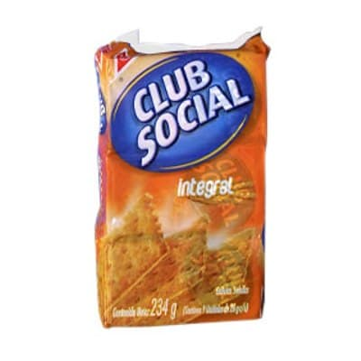 Galletas integrales club social x 9 unidades - Cod:ABM34