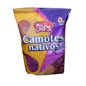 Camotes Nativos x 210 gr | Camote Frito - Cod:ABO08