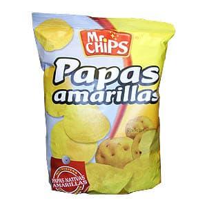 I-quiero.com - Papa Amarilla x 195 gr **Mr.Chips** - Codigo:ABO09 - Detalles: Papa Amarilla x 195 gr **Mr.Chips**  - - Para mayores informes llamenos al Telf: 225-5120 o 476-0753.