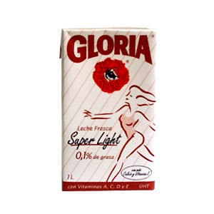 Leche Gloria Super Light x 1 litro - Cod:ABP15