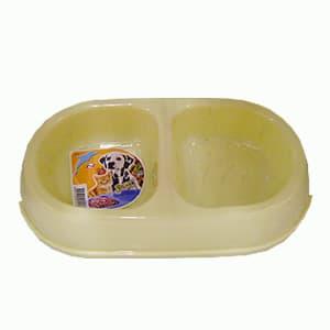 Plato ovalado plástico | Comida para Mascotas - Cod:ABS05