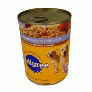 Pedigree lata 375 gr. Cachorro/carnita molida,cordero,arroz - Cod:ABS06