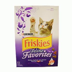 I-quiero.com - Friskies Feline Favourites x 599gr - Codigo:ABS16 - Detalles: Friskies Feline Favourites x 599gr El producto puede ser reemplazado por otra marca.  - - Para mayores informes llamenos al Telf: 225-5120 o 476-0753.