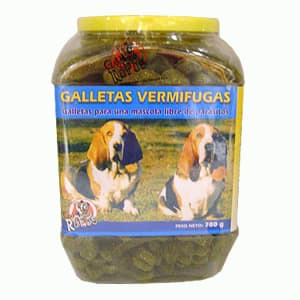 Galletas Vermifugas (libre parasitos)780gr - Cod:ABS24