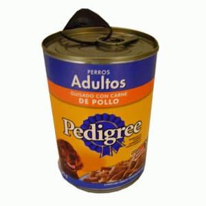 Pedigree perro adultos,pollo,carne de res,res y cereales350 gr. - Cod:ABS44