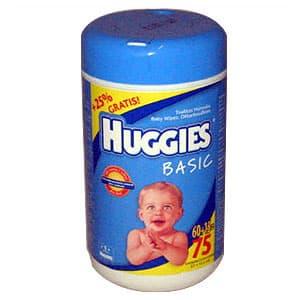 Paños Húmedos Huggies x 64unidades - Cod:ABV10