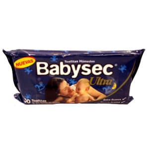 Toallitas Humedas Babysec 50 toallitas - Cod:ABV13
