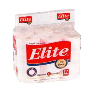 Papel Higiénico Elite x 12 rollos - Cod:ABV15