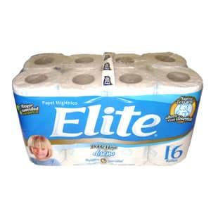 Papel Higiénico Elite Doble Hoja x 16 Unid - Cod:ABV19