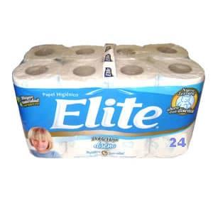 Papel Higiénico Elite Doble Hoja x 24 Unid - Cod:ABV21