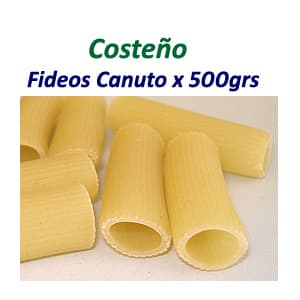 Fideos Canutos 250 Don Victorio grs. - Cod:ABW01