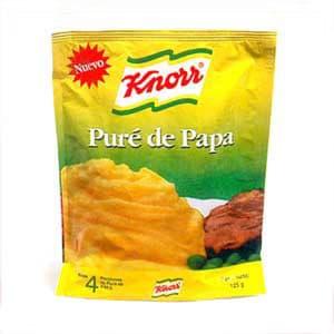 Puré de Papas Knorr x 125 grs. | Pure de Papas - Cod:ABW05