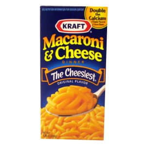 Macaroni & Cheese de 206 g Kraft | Macarrones - Cod:ABW08