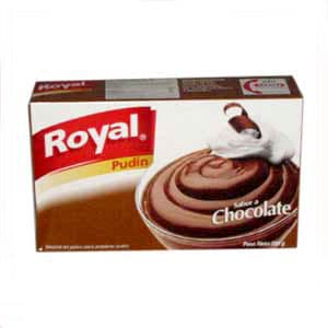 Pudin Royal de Chocolate x 110grs. | Pudin Royal - Cod:ABX03